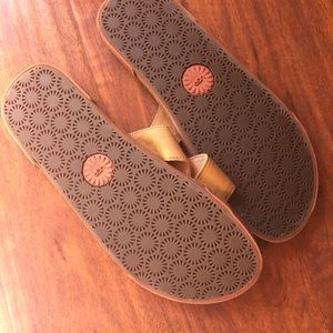 baa88bbcaad New UGG Men's Cork Double Strap Leather Slide NWT